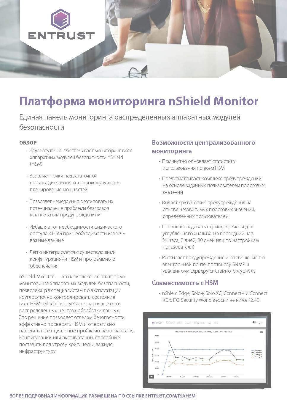 Платформа мониторинга nShield Monitor